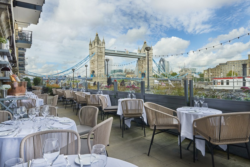Dining in London
